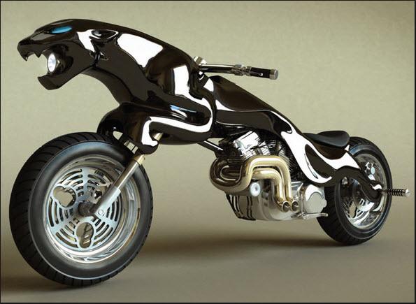 10-motos-raras-en-forma-de-pantera