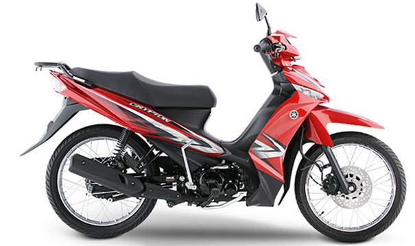 Moto Yamaha Crypton 115 modelo 2010  Catalogo de partes