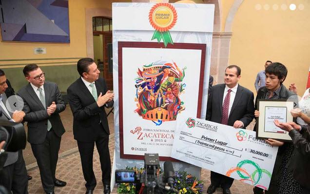 Cartel ganador de la feria nacional de zacatecas mexico 2015