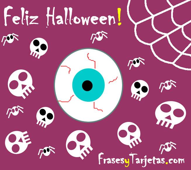 Frases y tarjetas de feliz halloween