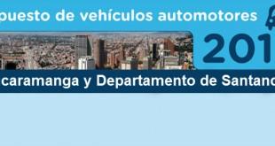 impuestos-de-vehiculos-bucaramanga-y-departamento-de-santander-2017
