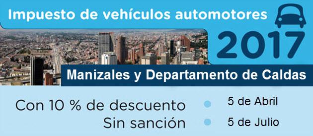 impuestos-de-vehiculos-manizales-y-departamento-de-caldas-2017