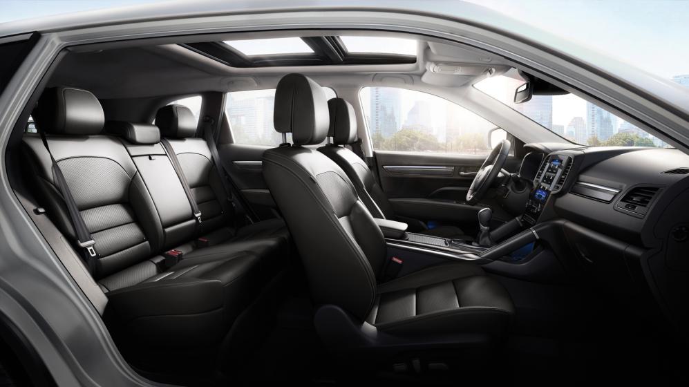 Vista interior de la nueva Renault Koleos