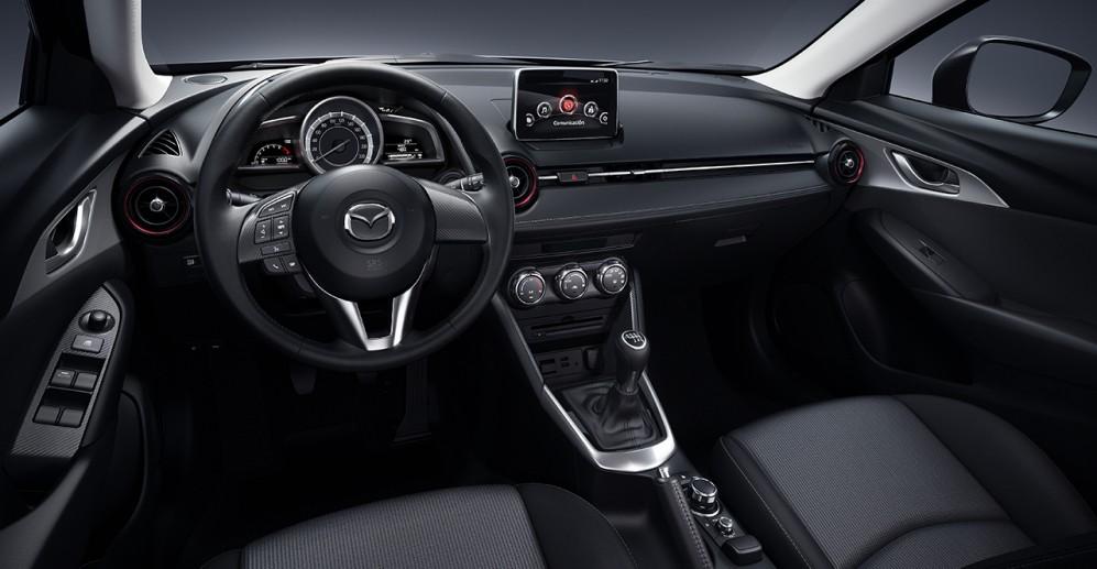 Vista interior Mazda CX3