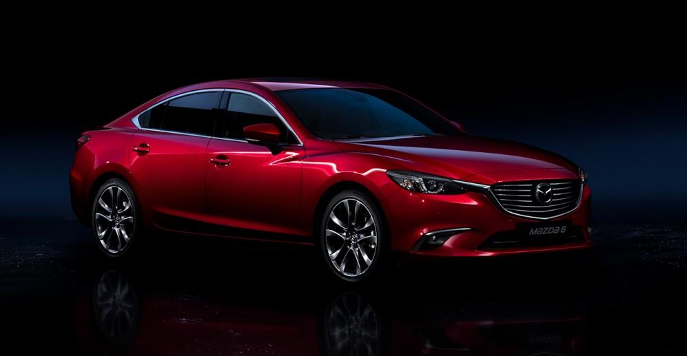 Detalles del exterior Mazda 6