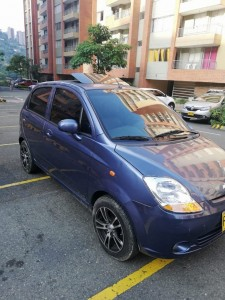 Se vende Chevrolet Spark Go 2010 color azul