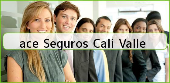 <b>ace Seguros Cali Valle</b>