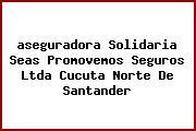 <i>aseguradora Solidaria Seas Promovemos Seguros Ltda Cucuta Norte De Santander</i>