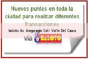 Teléfono y Dirección Baloto, Ac Asegurando, Cali, Valle Del Cauca