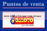 Teléfono y Dirección Baloto, Almacen Distripanal, Caldas, Antioquia