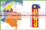 Teléfono y Dirección Baloto, Autoservicios El Carmen De Bolivar, El Carmen De Bolívar, Bolivar