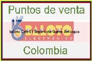 Teléfono y Dirección Baloto, Cafe El Deportista, Guarne, Antioquia