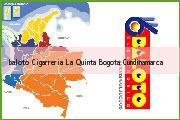 Teléfono y Dirección Baloto, Cigarreria La Quinta, Bogotá, Cundinamarca