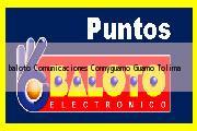 <i>baloto Comunicaciones Connyguamo</i> Guamo Tolima