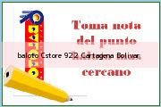 Teléfono y Dirección Baloto, Cstore 922, Cartagena, Bolivar