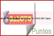 Teléfono y Dirección Baloto, Distribuidora Alex.Com, Cali, Valle Del Cauca