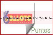 Teléfono y Dirección Baloto, Drogas Economicas Sucursal No. 2, Cali, Valle Del Cauca