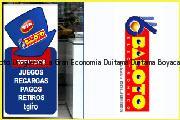 Teléfono y Dirección Baloto, Drogueria La Gran Economia Duitama, Duitama, Boyaca