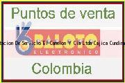 Teléfono y Dirección Baloto, Estacion De Servicio El Canelon Y Cia Ltda, Cajicá, Cundinamarca