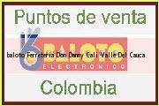 Teléfono y Dirección Baloto, Ferreteria Don Danny, Cali, Valle Del Cauca