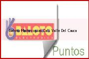 Teléfono y Dirección Baloto, Mastercopias, Cali, Valle Del Cauca