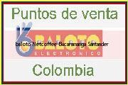 Teléfono y Dirección Baloto, Netcoffee, Bucaramanga, Santander