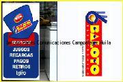 Teléfono y Dirección Baloto, Pames Comunicaciones, Campoalegre, Huila