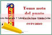 Teléfono y Dirección Baloto, Restaurante Y Cafeteria Los Cuyos, Viterbo, Caldas
