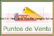 Teléfono y Dirección Baloto, S.A.I. New Empresa Unipersonal, Cantagallo, Bolivar