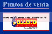 Teléfono y Dirección Baloto, Sto 109 Buenos Aires, Cartagena, Bolivar