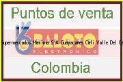 Teléfono y Dirección Baloto, Supermercados Maximo S.A. Guayacanes, Cali, Valle Del Cauca
