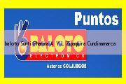 Teléfono y Dirección Baloto, Surti Pharma A Y L, Zipaquira, Cundinamarca