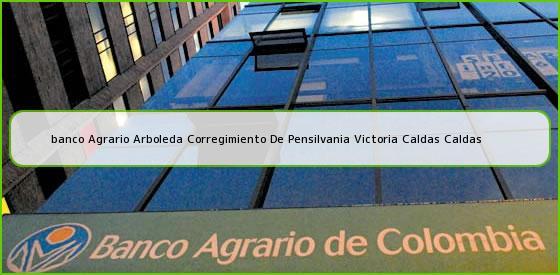 <b>banco Agrario Arboleda Corregimiento De Pensilvania Victoria Caldas Caldas</b>