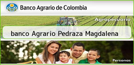 <b>banco Agrario Pedraza Magdalena</b>