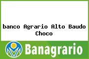 <i>banco Agrario Alto Baudo Choco</i>