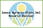 <i>banco Agrario Altos Del Rosario Bolivar</i>