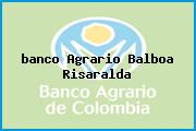 <i>banco Agrario Balboa Risaralda</i>