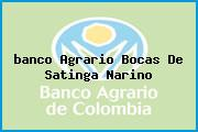 <i>banco Agrario Bocas De Satinga Narino</i>