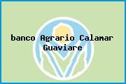 <i>banco Agrario Calamar Guaviare</i>