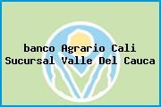 <i>banco Agrario Cali Sucursal Valle Del Cauca</i>
