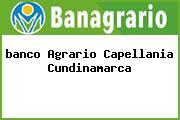 <i>banco Agrario Capellania Cundinamarca</i>