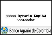 <i>banco Agrario Cepita Santander</i>