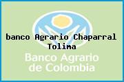 <i>banco Agrario Chaparral Tolima</i>