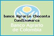 Teléfono y Dirección Banco Agrario, Cll 4 5-26, Chocontá, Cundinamarca
