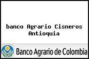 Teléfono y Dirección Banco Agrario, Calle 20 No 20-05, Cisneros, Antioquia
