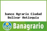 Teléfono y Dirección Banco Agrario, Cr 50 49-03 Sur, Ciudad Bolívar, Antioquia