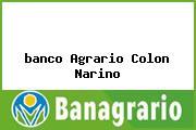 <i>banco Agrario Colon Narino</i>