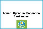 <i>banco Agrario Coromoro Santander</i>