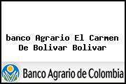 <i>banco Agrario El Carmen De Bolivar Bolivar</i>