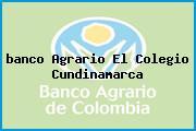 <i>banco Agrario El Colegio Cundinamarca</i>